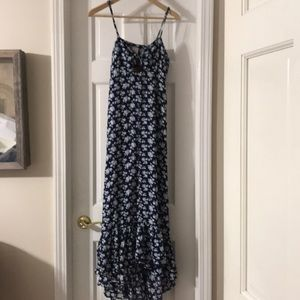 Bow Front Floral Maxi
